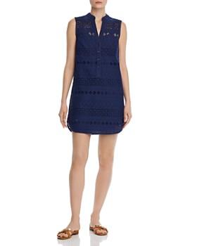 1189207c88894 AQUA - Sleeveless Eyelet Shift Dress - 100% Exclusive ...