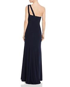 AQUA - One-Shoulder Cutout Gown - 100% Exclusive