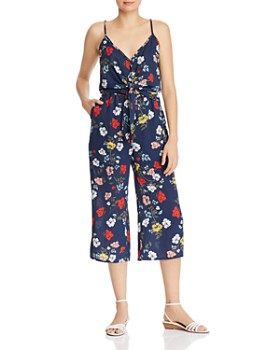 Jack by BB DAKOTA - Blissful Bouquet Tie-Front Floral Jumpsuit