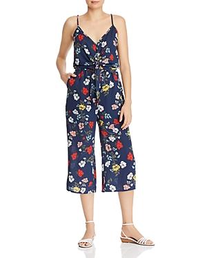 Jack by Bb Dakota Blissful Bouquet Tie-Front Floral Jumpsuit