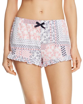 Jane & Bleecker New York - Printed Knit Boxer Shorts