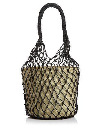 AQUA - Rai Large Net Bucket Bag - 100% Exclusive