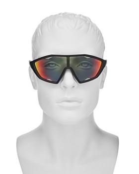 b2ac4c050e5 ... 130mm Prada - Men s Linea Rossa Mirrored Shield Sunglasses