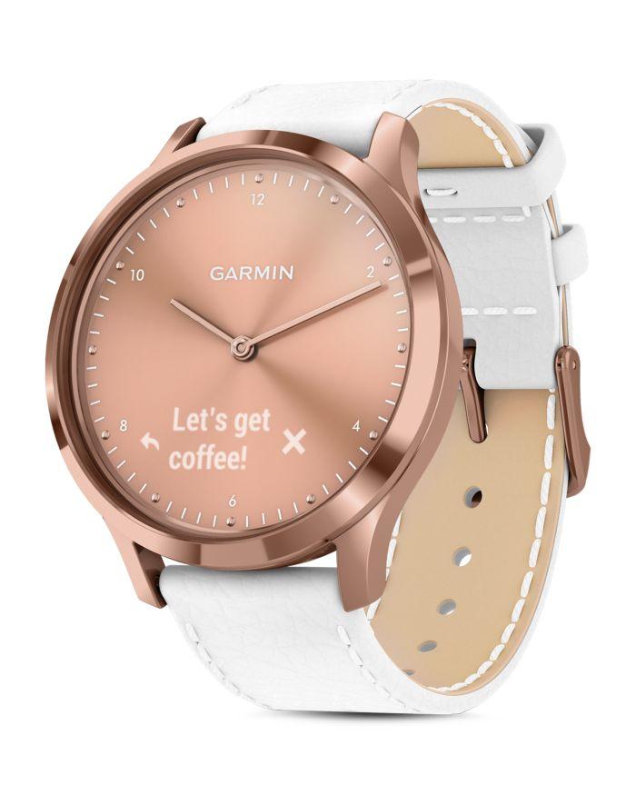 Garmin Vivomove HR Rose Gold Touchscreen Hybrid Smartwatch, 43mm  | Bloomingdale's