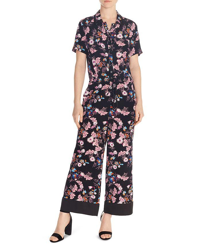 fa5c90f116 Sandro - Olivier Floral-Print Jumpsuit