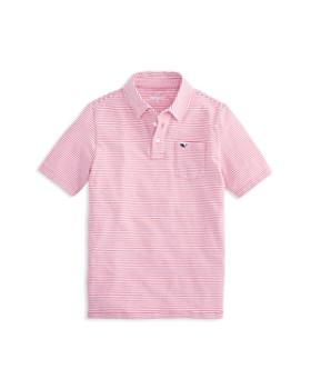 Vineyard Vines - Boys' Edgartown Striped Polo Shirt - Little Kid, Big Kid