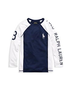 Ralph Lauren - Boys' UPF 40 Rash Guard - Little Kid