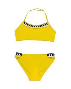 Gossip Girl - Girls' Two-Piece Halter Swimsuit - Big Kid