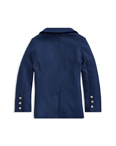 Ralph Lauren - Boys' Brass-Button Terry Blazer - Little Kid