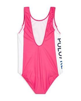 Ralph Lauren - Girls' Logo Swimsuit - Big Kid