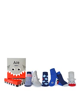 Trumpette - Boys' 6-Piece Ace Socks Set - Baby