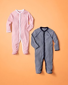 Ralph Lauren - Girls' Striped Footie - Baby