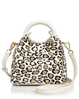 Elleme - Metallic Leopard Satchel