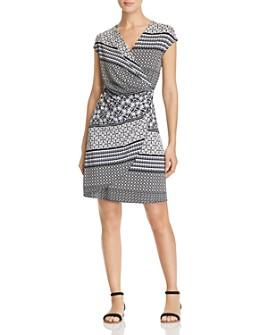 Tommy Bahama - Tropical Terrazza Printed Faux-Wrap Dress