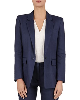 Gerard Darel - Solene One-Button Blazer