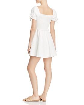 leRumi - Nora Tie-Front Mini Dress