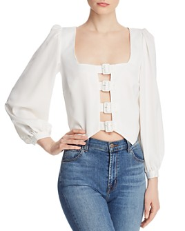 The East Order - Fable Front-Buckle Top