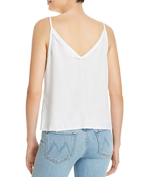 Bella Dahl - Side-Tie Frayed-Trim Cami
