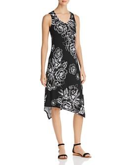Marc New York - Sleeveless Floral-Print Midi Dress