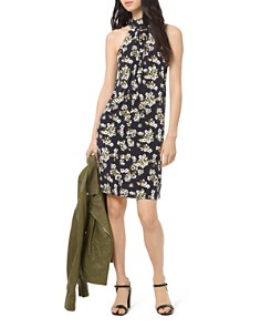 MICHAEL Michael Kors - Glam Painterly Floral Dress
