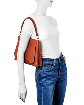 Callista - Grace Tulipe Medium Leather Shoulder Bag