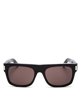 2745a4e7496d Saint Laurent - Men s Flat Top Square Sunglasses