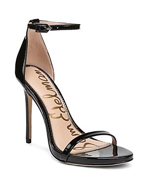 Sam Edelman Sandals WOMEN'S ARIELLA HIGH-HEEL ANKLE STRAP SANDALS
