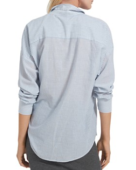 ATM Anthony Thomas Melillo - Railroad Stripe Boyfriend Shirt
