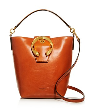 Jimmy Choo - Madeline Small Leather Bucket Bag
