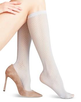 0ae229aea3a Falke - Caiman Snake-Pattern Knee-High Socks ...
