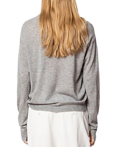 Zadig & Voltaire - Kansas CP Embellished Cashmere Sweater