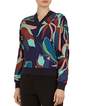 575b79187 Ted Baker - Byssie Supernatural-Print Sweater ...