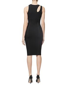 Good American - Asymmetric Knit Dress