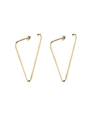 Miansai Small Eden Earrings in 18K Gold-Plated Sterling Silver