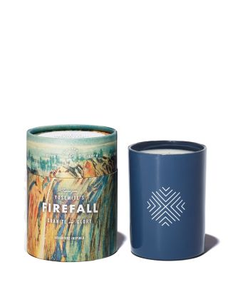 Yosemite's Firefall Candle by Ethics Supply Co.