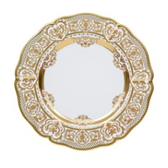 Prouna - Carlsbad Queen White Round Platter/Charger Plate