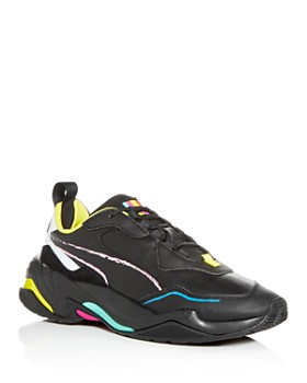 PUMA - Men's Thunder Bradley Leather Low-Top Sneakers