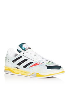 Raf Simons for Adidas - Men's Torsion Stan Leather Low-Top Sneakers