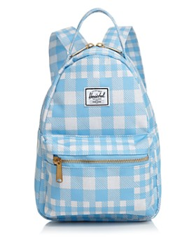 Herschel Supply Co. - Nova Small Check Print Backpack