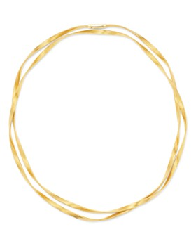 "Marco Bicego - 18K Yellow Gold Marrakech Single Strand Long Necklace, 36"""