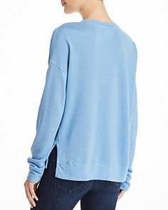 Sundry - High/Low Heart Sweatshirt