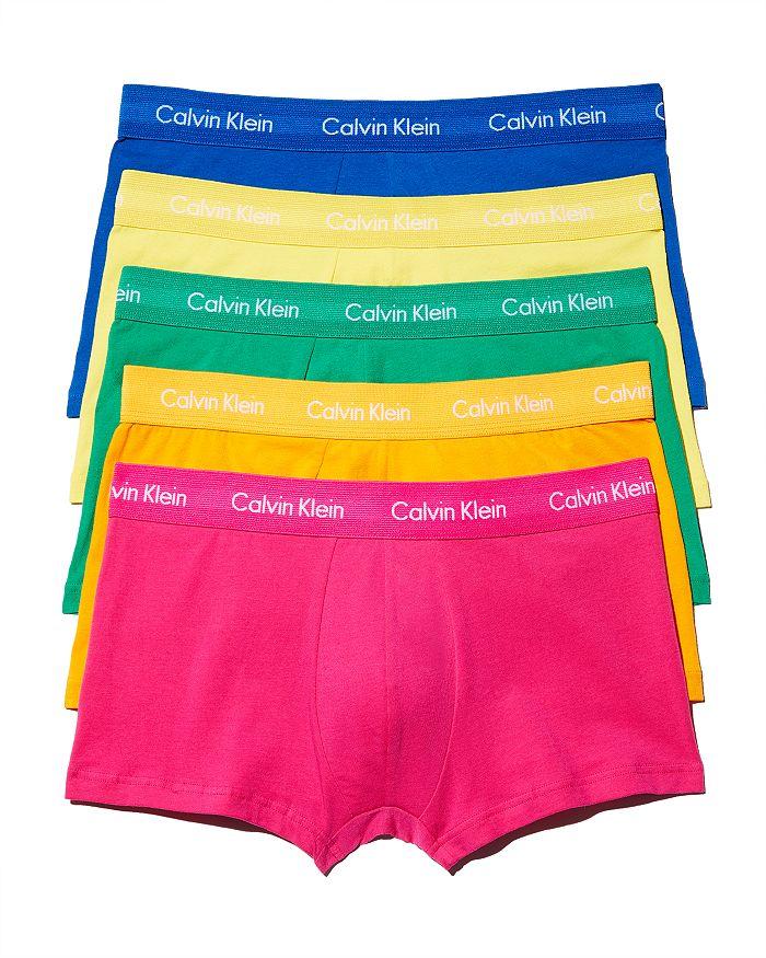 Calvin Klein - Pride Low Rise Trunks, Pack of 5