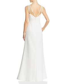 BCBGMAXAZRIA - Padma Strap-Detail Gown - 100% Exclusive