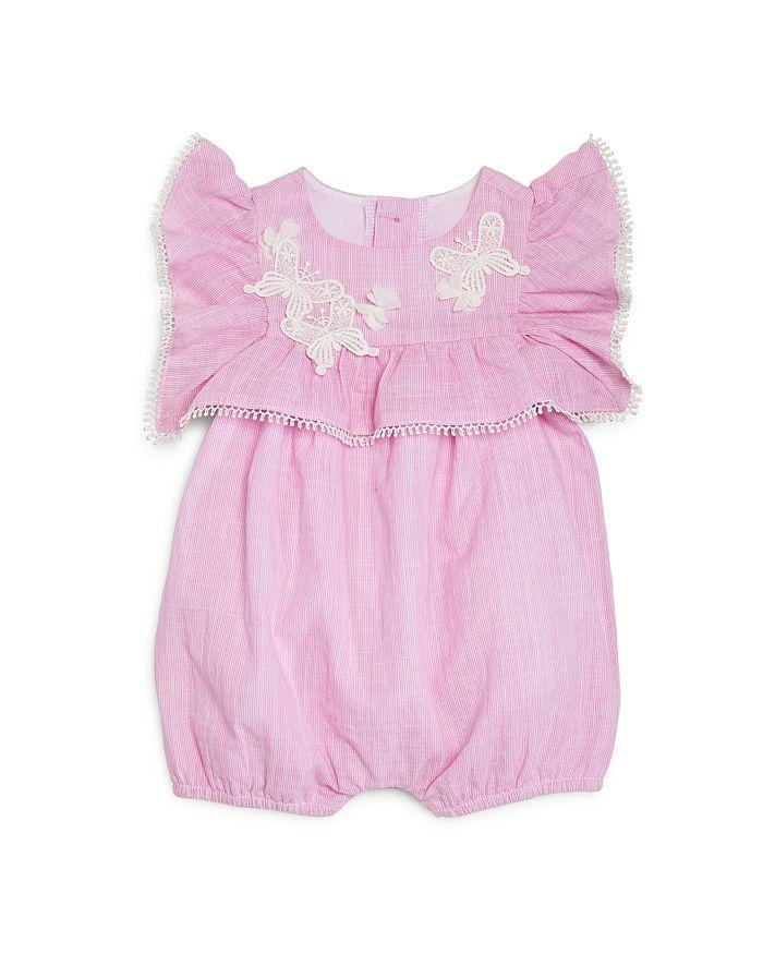 Miniclasix - Girls' Butterfly Ruffle Romper - Baby