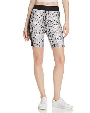 Pam & Gela Snake Print Biker Shorts - 100% Exclusive