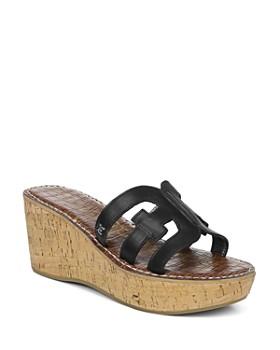 1d2353b275c0 Sam Edelman - Women's Regis Platform Wedge Sandals ...