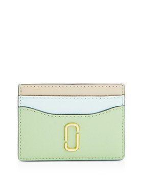 fbb32e4b5fd MARC JACOBS - Snapshot Color-Block Embossed Leather Card Case ...