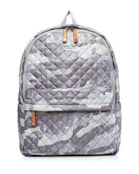 3561bb9e29dd7c MZ WALLACE - Gray Camo Metro Backpack ...