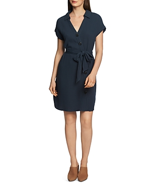 Image of 1.state Belted Asymmetric Shirt Dress