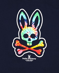 Psycho Bunny - Boys' Tie-Dyed Bunny Tee - Little Kid, Big Kid - 100% Exclusive
